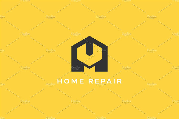 Home Repair Service Shop Logo