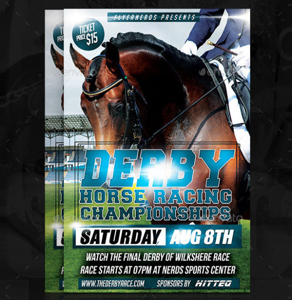 Horse Riding Championship Flyer