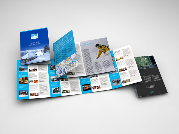 Cool Hotel Group Brochure Template