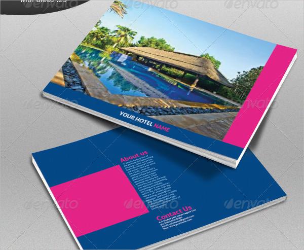 Hotel Services Brochure Design