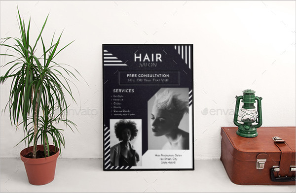 Huge Pack of Hair Salon Flyer Templates