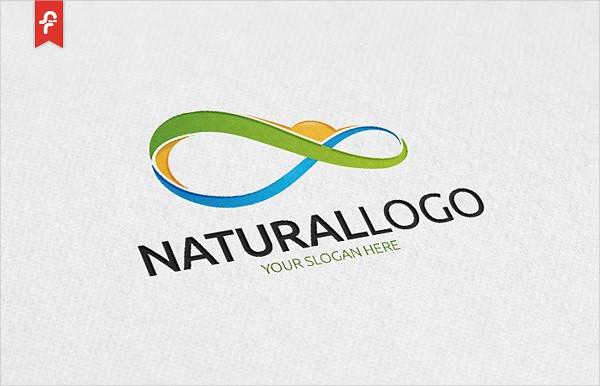 Infinite Natural Logo Template