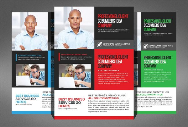 Insurance Corporate Flyer Template