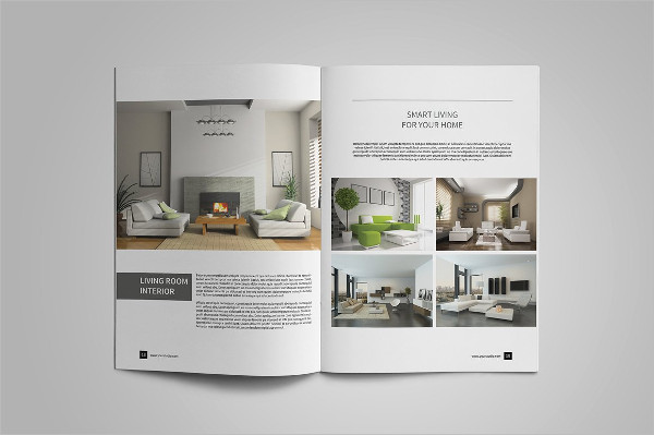 Interior Catalog Brochure