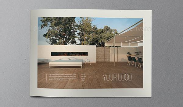 Clean Interior Design Brochure