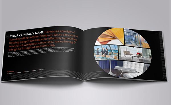 Corporate Interior Design Brochure