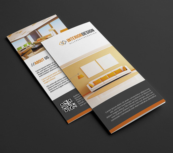 Printable Brochure for Interior Design