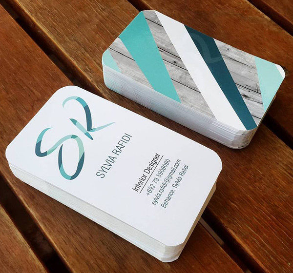 Business Card for Interior Designer