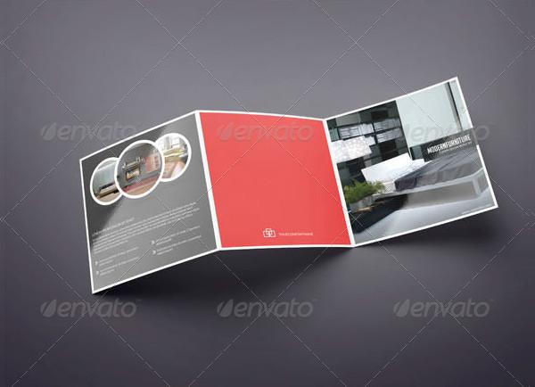 Trifold Brochure for Interior Design