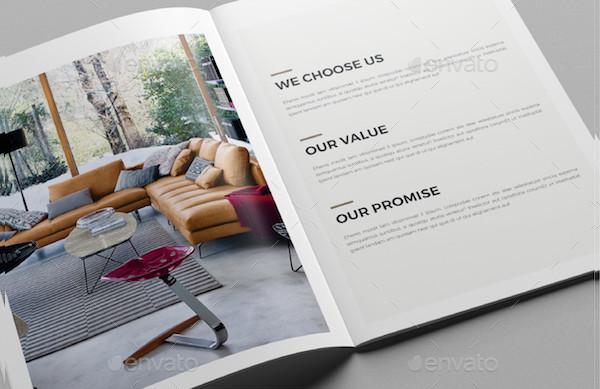 Modern Interior Design Brochure Template