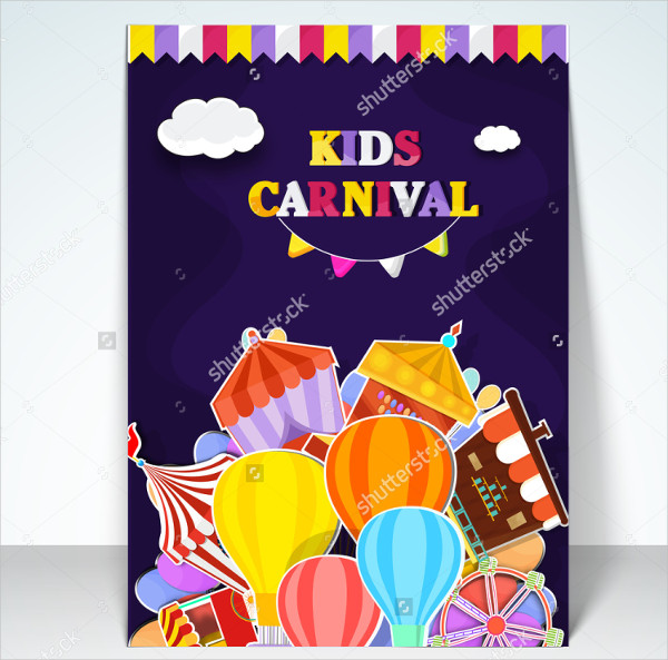 Kids Carnival Festival Flyer Template