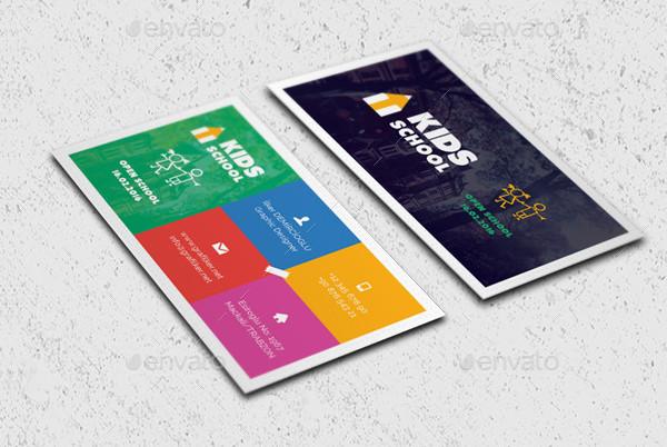 kids school business card templates - Kids Business Cards