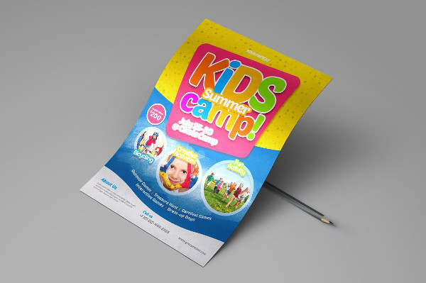 Best Kids Summer Camp Flyer Templates