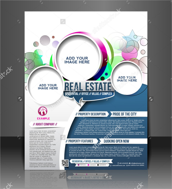 Real Estate Layout Flyer