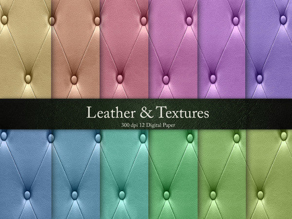 Leather & Backgrounds Design