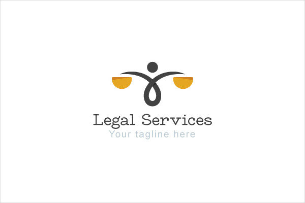 Legal Services Logo Template