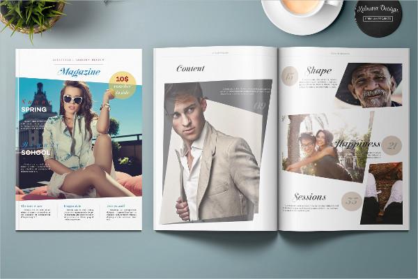 Universal Lifestyle & Fashion Magazine Template