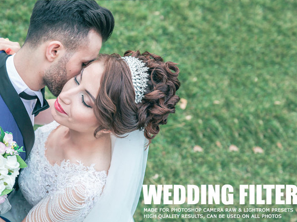 Free Wedding Lightroom Photoshop Action Bundle