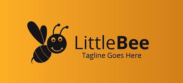 Little Bee Studio Logo Template