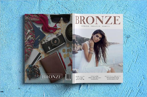 Luxury Fashion Magazine Template