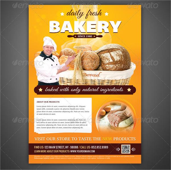 Bakery Flyer & Magazine Ad