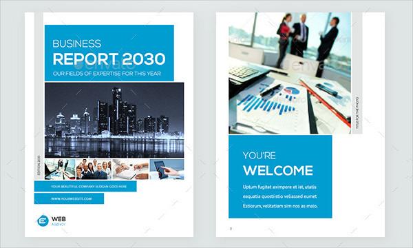 Marketing Ebook Template Design