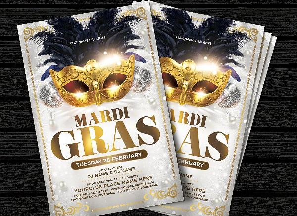 Beautiful Flyer Template for Carnival