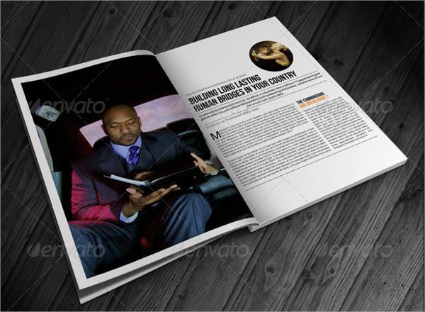 Creative Lifestyle Magazines Template