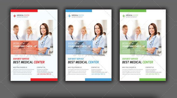 Medical Insurance Agency Flyer Template