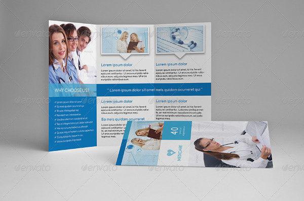 Medical Tri-Fold Letter Brochures