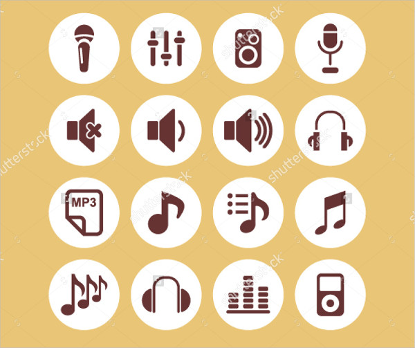 Best Music Icons for App