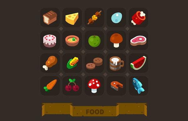 Fantasy Game Icon Set