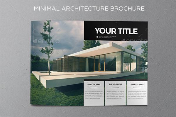 Minimal Architecture Brochure Template
