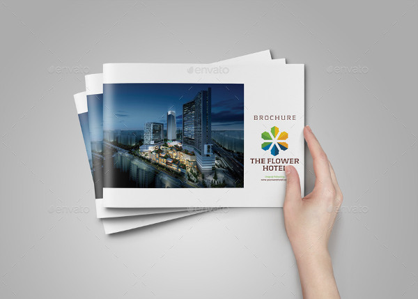 Minimal Hotel Services Brochure Template