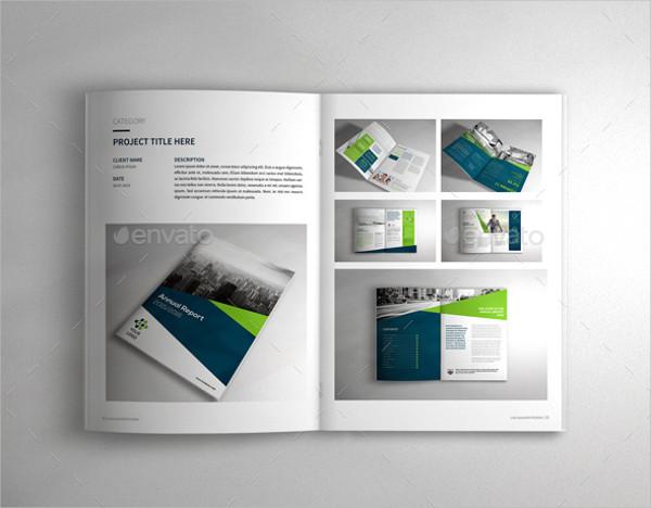 Professional Portfolio Brochure Template