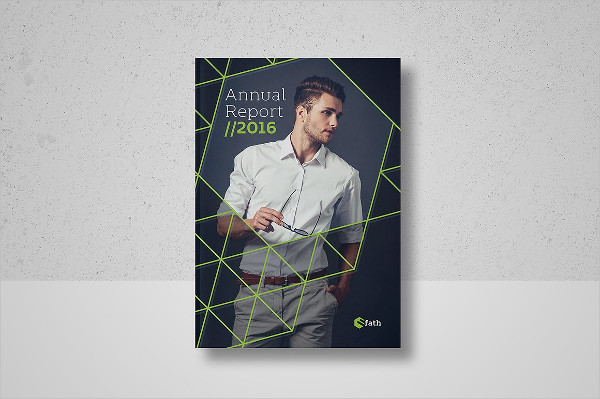 Modern Annual Report Printable Brochure