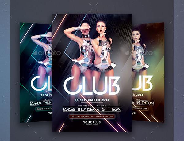 31+ Best Club Flyer Templates - Free & Premium Download