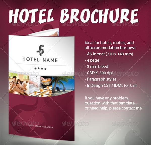 Popular Hotel Business Brochure Template