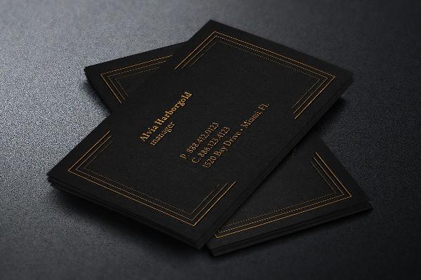 Modern Jewelry Shop Business Card