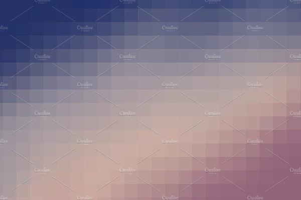 Mosaic Pixel Backgrounds