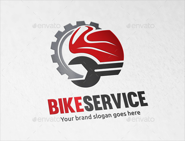 Motorcycle Service Printable Logo