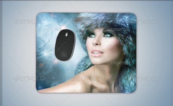 Mouse Pad Editable Mockup