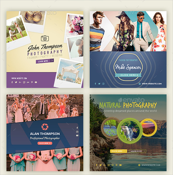 Multipurpose Photography Banners