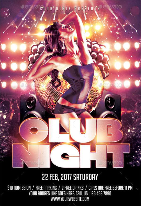 Luxury Club Night Flyer Template