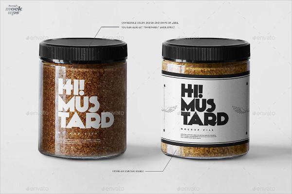 Custom Jar Mockups PSD