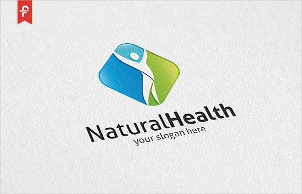 Natural Health Logo Template