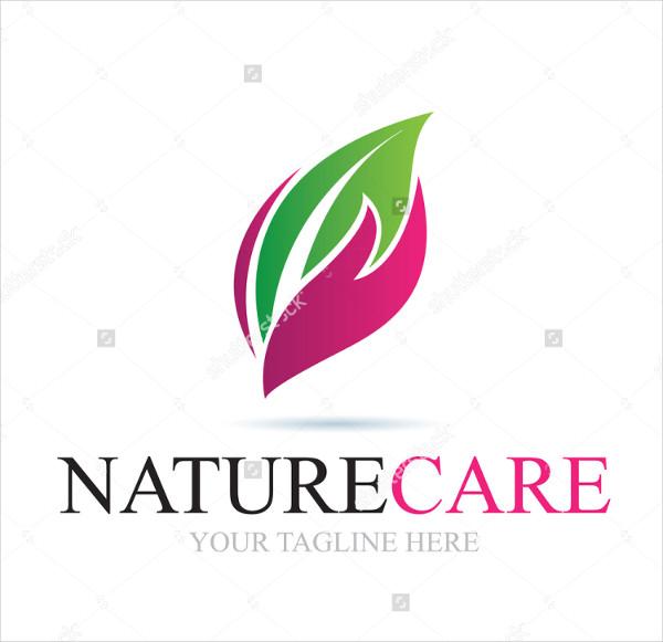 Nature Care Logo Template