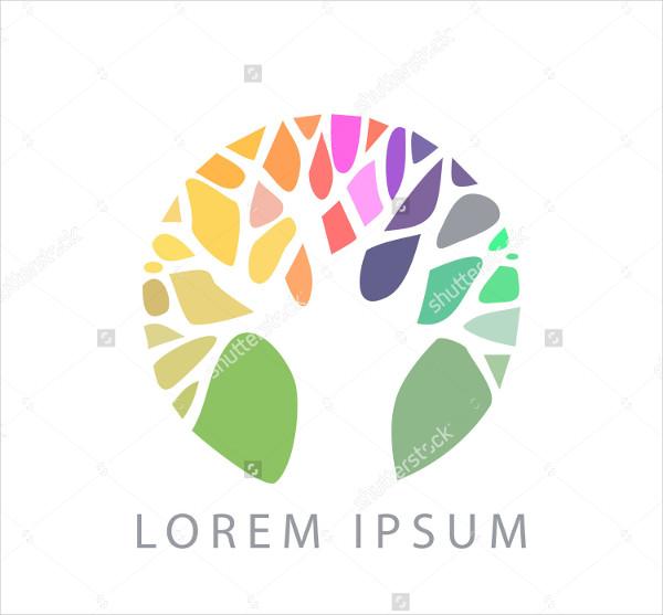 Nature Logo Tree Vector