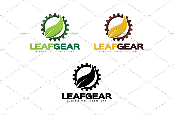 Nature Gear Logo Template