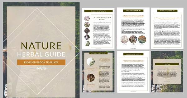 Nature InDesign Ebook Template
